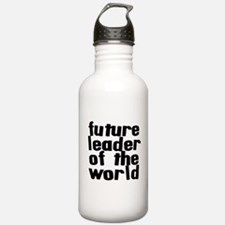 future leader of the world Water Bottle