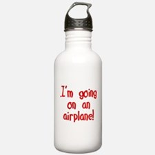 going on an airplane Water Bottle