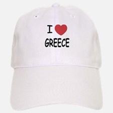 I heart Greece Baseball Baseball Cap