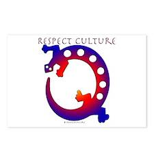 Respect Culture - Native Lizard Postcards (Package