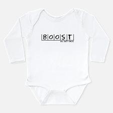 Boost Anti-Drug Long Sleeve Infant Bodysuit