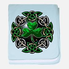 St. Patrick's Day Celtic Knot baby blanket