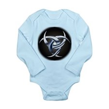 Lunar Triple Goddess Long Sleeve Infant Bodysuit