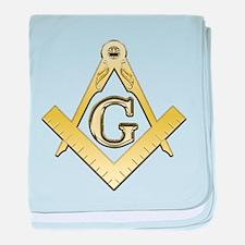 Freemason Symbol baby blanket