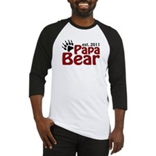 Papa Bear Est 2011 Baseball Jersey