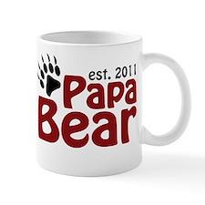 Papa Bear Est 2011 Mug