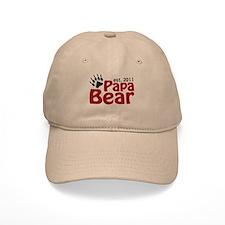 Papa Bear Est 2011 Baseball Cap
