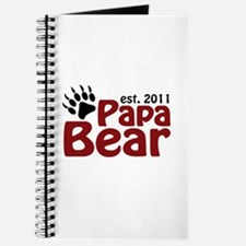 Papa Bear Est 2011 Journal