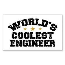 World's Coolest Engineer Decal
