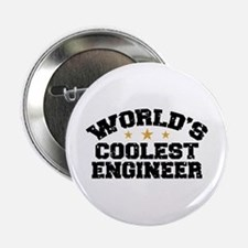 "World's Coolest Engineer 2.25"" Button"