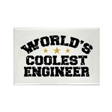 World's Coolest Engineer Rectangle Magnet
