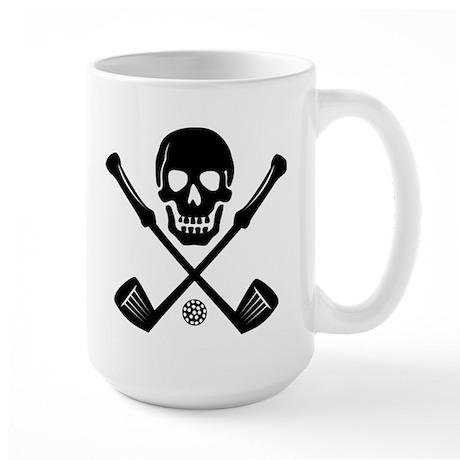I Love Golf Large Mug