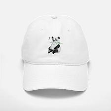 puzzled panda Baseball Baseball Cap