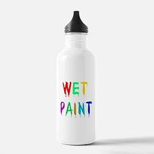 WET PAINT Water Bottle