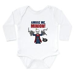 Xykon: Amuse Me! Long Sleeve Infant Bodysuit