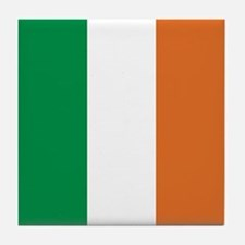 Ireland Irish Flag Tile Coaster