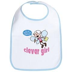 Celia: Clever Girl Bib