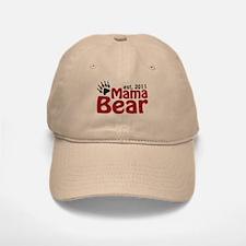 Mama Bear Est 2011 Baseball Baseball Cap