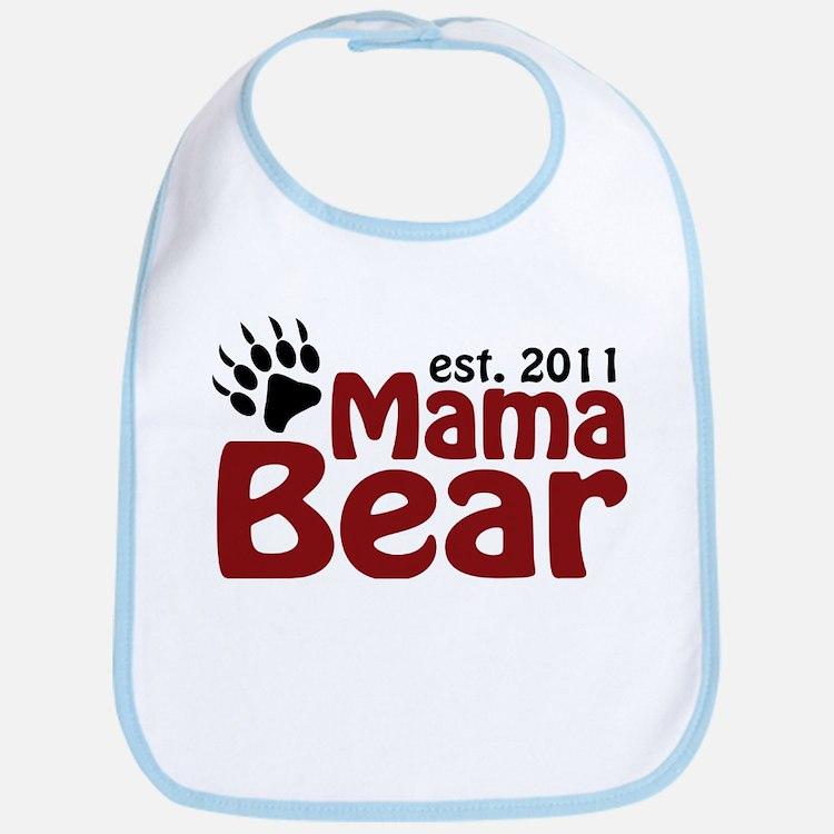 Mama Bear Est 2011 Bib