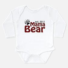 Mama Bear Est 2011 Long Sleeve Infant Bodysuit