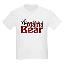 Mama Bear Est 2011 T-Shirt