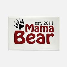 Mama Bear Est 2011 Rectangle Magnet