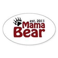 Mama Bear Est 2011 Decal