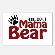 Mama Bear Est 2011 Postcards (Package of 8)