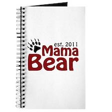 Mama Bear Est 2011 Journal
