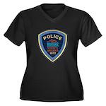 Marana Arizona Police Women's Plus Size V-Neck Dar
