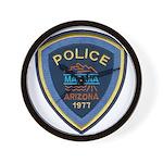 Marana Arizona Police Wall Clock