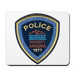Marana Arizona Police Mousepad
