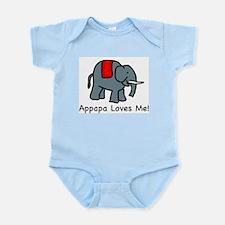 Appapa Loves Me Infant Creeper