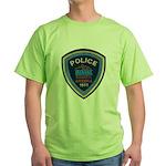 Marana Arizona Police Green T-Shirt