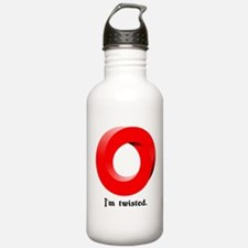 I'm twisted. Water Bottle