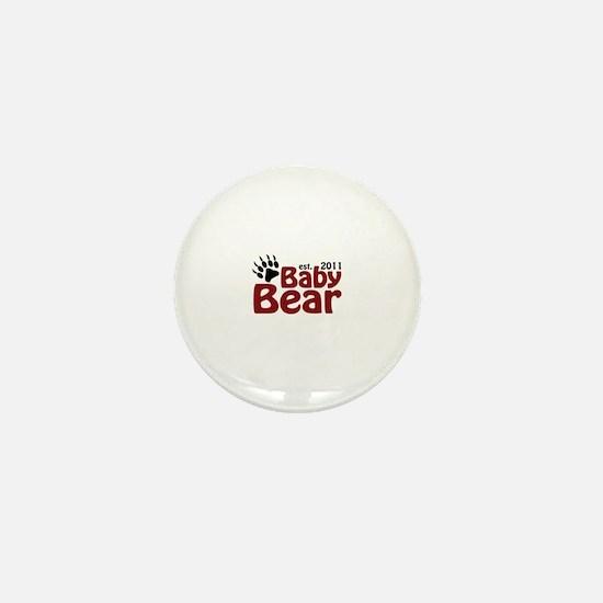 Baby Bear Est 2011 Mini Button
