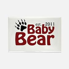 Baby Bear Est 2011 Rectangle Magnet