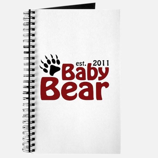 Baby Bear Est 2011 Journal