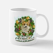 Merry Christmas Corgi Mug