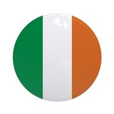 Ireland Irish Flag Ornament (Round)
