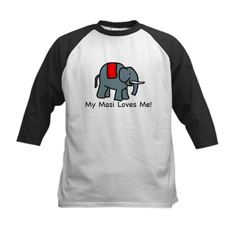 Masi Loves Me Kids Baseball Jersey