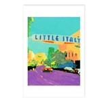 Little Italy Postcards (Package of 8)