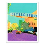 Little Italy Small Poster