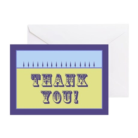 Thank You: Greeting Cards (Pk of 10)