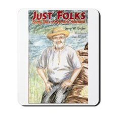 "cover design of ""Just Folks Mousepad"