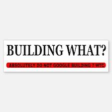 WTC 7 Sticker (Bumper)