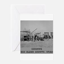 Corinne Box Elder County Greeting Card