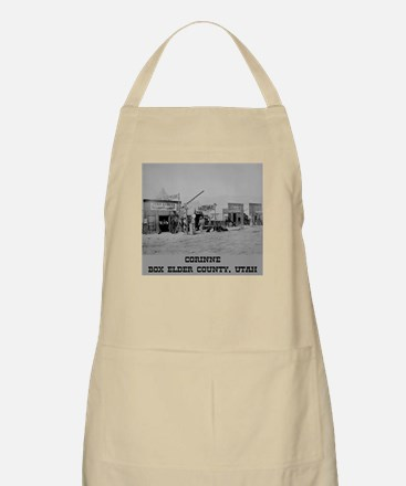 Corinne Box Elder County Apron