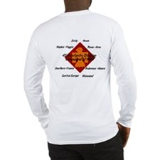 Long Sleeve T-Shirt w/ WWII Campaigns