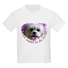Lhasa Apso Kids T-Shirt